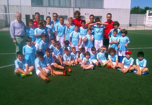 Comeza o Campus de Fútbol da Fundación Celta de Vigo en Oroso, que conta cunha media de 35 participantes por semana