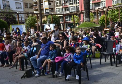"""Numerosos meniños asisten á actividade """"Cooperativismo en movemento"""""""