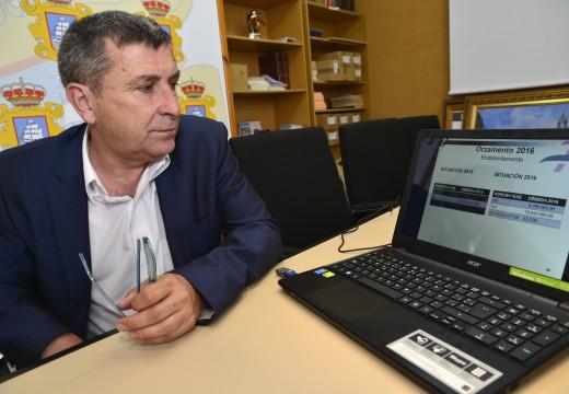 O alcalde destaca o forte carácter participativo e social do orzamento municipal para o exercicio 2016