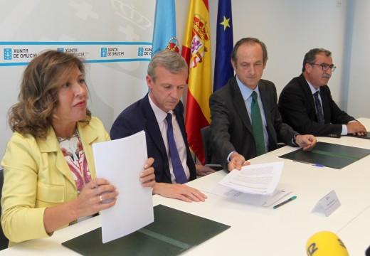A Xunta asina o Pacto ambiental con ENCE, que recolle compromisos ambientais e sociais da factoria coa Comunidade Autónoma