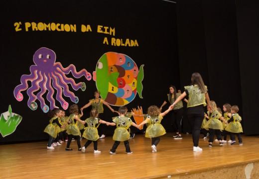 A escola infantil municipal A Rolada de San Sadurniño despide a súa segunda promoción