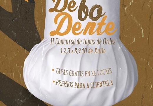 Esta fin de semana conclúe o II Concurso de tapas 'De bo dente!'