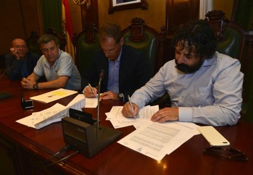 Atlética Riveira e Celta de Vigo establecen relacións de colaboración para potenciar a canteira do Club Barbanzá