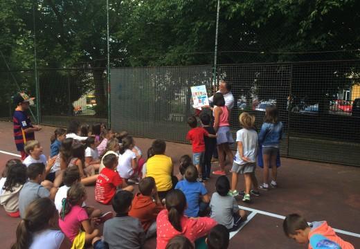 Medio centenar de escolares cambreses participan en O Temple nun campamento de verán en inglés