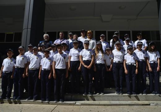 Regresa a Policía Infantil de Riveira na súa 21ª promoción con 5 novas incorporacións