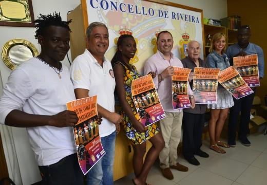 Os cantos africanos soarán o vindeiro mércores en Riveira da man do coro costamarfileño Saint Luc de Banabakintu