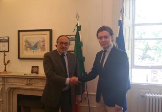 A Xunta entrevistase en Oporto co novo presidente da Rexión Norte de Portugal