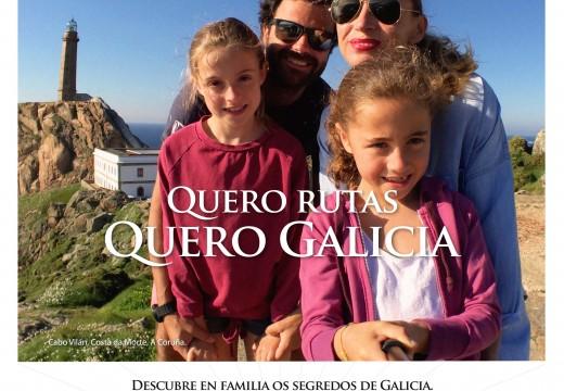 A campaña publicitaria de Turismo de Galicia para a promoción do destino este verán alcanzou ao 80% da poboación española