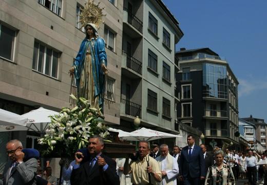 O pobo de Ordes venera a súa Virxe