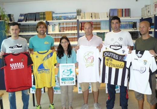 Lousame acollerá o 21 de agosto o I Torneo de Fútbol a favor da Asociación Galega de Heteroplasia Ósea Progresiva