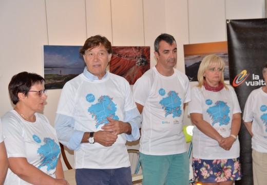 A iniciativa 'Camisetas Solidarias Vuelta 2016' recadará fondos para a Asociación Stop Accidentes