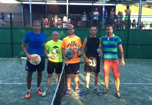 Sito e José Viqueira gañan o VIII Torneo de Pádel do Concello de Frades