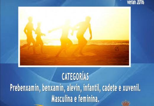 """Torneo Futbol Praia 3×3 – Categorias Base e Xuvenil """"Praia de Cabío"""""""