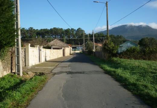 Adxudicada a pavimentación e ampliación da estrada de Lixó na parroquia de Oleiros