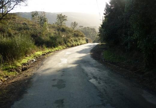 Adxudicada a mellora do firme do vial entre Líxó e os Muíños na parroquia de Oleiros
