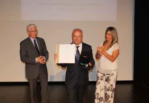 O Concello de Oroso recibe a Medalla de Ouro da Cámara Municipal de Góis