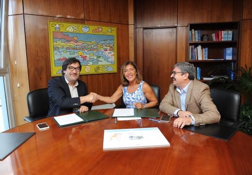Medio Ambiente destinará 480.000 euros para rematar o equipamento deportivo da Regueira, en Miño