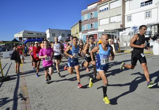 Máis de 350 corredores disputaron a terceira da Carreira Popular de Corrubedo