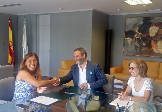 Medio Ambiente e o COAG reafirman a súa colaboración para a divulgación e sensibilización sobre a paisaxe galega