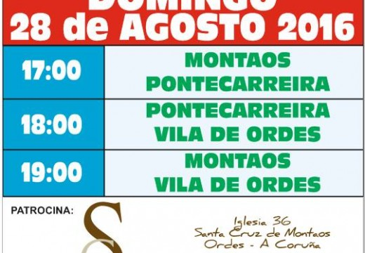 IV Torneo de Fútbol en Santa Cruz de Montaos