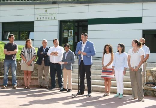 José Manuel Rey clausura en Ordes o programa de formación laboral 'Deseñando o teu futuro'