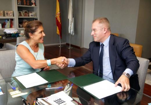 Xunta e Fundación de Enxeñería Civil de Galicia colaboran na consolidación internacional do sector galego da auga