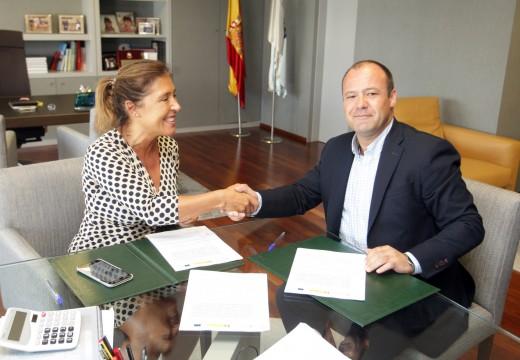 Medio Ambiente executará unha nova captación de augas e impulsión no concello de Aranga