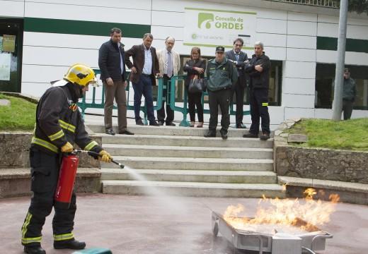 Ordes participa na Semana de Prevención de Incendios