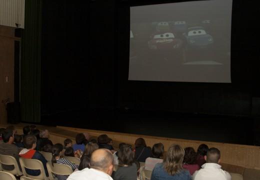 Cars 2 nas Tardes de cine de Ordes