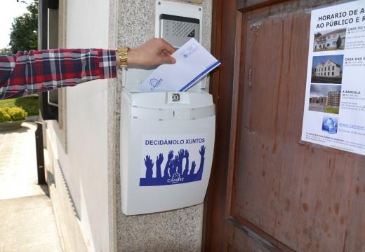 A campaña Decidámolo Xuntos recolle case 700 propostas veciñais
