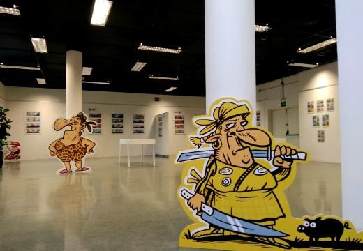 O Xoves inaugúrase a exposición de Luis Davila no Museo do Humor de Fene
