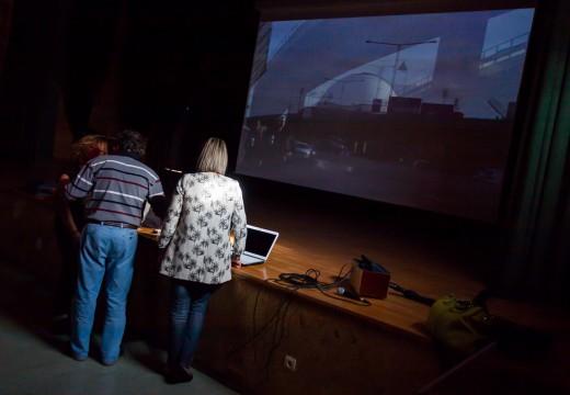 O Concello pasa o auditorio a pantalla grande cun investimento de 12.300 euros cofinanciados por Deputación e Xunta