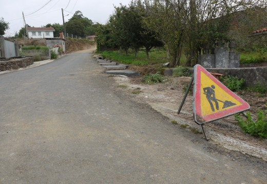 O Concello deTouro constrúe unha senda en Bentín