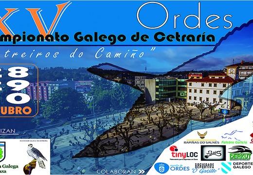 Ordes acollerá este mes o XV Campionato Galego de Cetraría