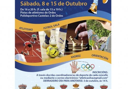 120 deportistas participan dende mañá sábado na I Miniolimpíada da Mancomunidade de Ordes