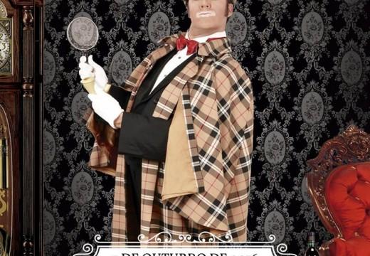 """Cayetano Lledó representa a obra de teatro e maxia """"Sherlock Holmes"""" mañá venres no centro social polivalente de Brión"""