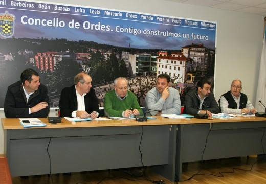 A Mancomunidade de Ordes aproba uns orzamentos de máis de 1.242.000 €