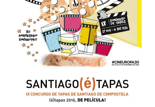 Este xoves comeza unha nova edición de Santiago(é)tapas con 68 locais participantes