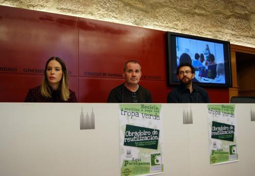 O Concello e Tropa Verde súmanse á Semana Europea da Prevención de Residuos