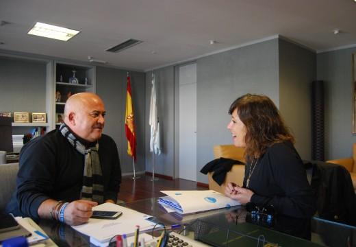 Medio Ambiente reitera ao Consorcio das Mariñas o compromiso adquirido co concello da Coruña de garantir os niveis de ingresos da Planta de Nostián