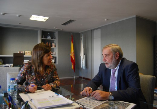 A conselleira de Medio Ambiente e o alcalde de Culleredo manteñen unha xuntanza de traballo para explorar vías de colaboración