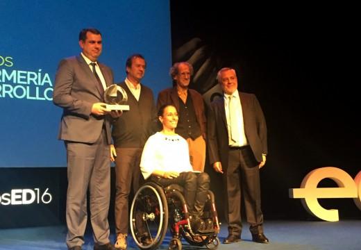 Martínez Sanjurjo comprométese na entrega dos premios Enfermería en Desarrollo a corrixir o erro histórico  que mantén no esquecemento a Isabel Zendal