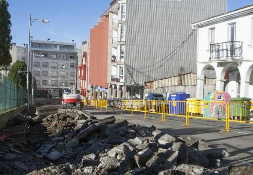 Arranca a segunda fase da obras da rúa do Parque