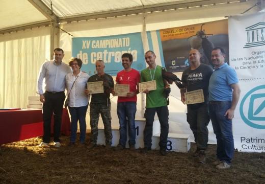 Público e participantes califican de éxito rotundo o XV Campionato de Cetraría celebrado en Mesón do Vento