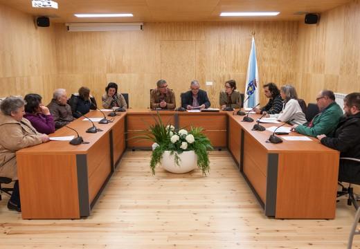 O Consello de Participación veciñal de San Sadurniño dálle o visto e prace ás bases das subvencións do ano que vén