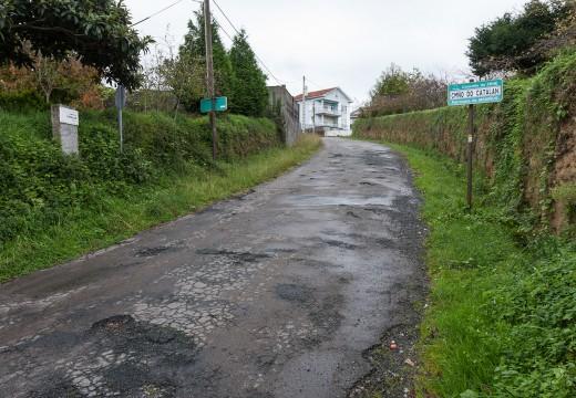 Fene adxudica as obras de reparación do Camiño do Catalán
