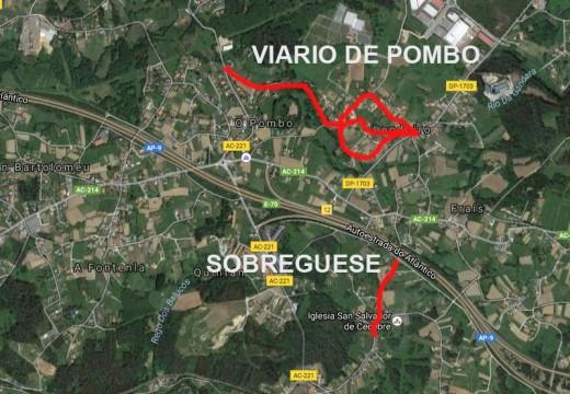 Cambre logra aforrarse case 90.000 euros na  reparación de varios camiños de Cambre dentro do Plan de Obras e Servizos