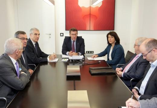 A Xunta mostra o seu apoio ao proxecto de Cooperativas Lácteas Unidas (Clun) como modelo de vertebración do sector en Galicia