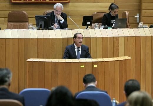 A capacidade de gasto da Xunta en 2017 medrará ata 300 millóns de euros polo aforro doutros 40 millóns en xuros da débeda