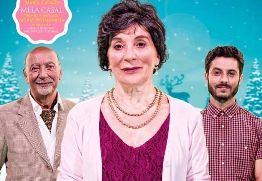"""O polivalente de Brión acollerá mañá sábado a obra """"Noiteboa"""", unha traxicomedia con Ernesto Chao, Mela Casal e Guillermo Carbajo"""